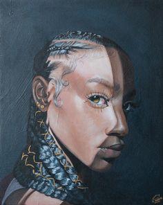Black Art Painting, Black Artwork, Black Love Art, Black Girl Art, African American Art, African Art, Illustrations, Illustration Art, Art Et Design