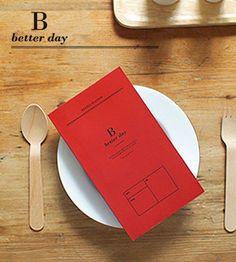 Ежедневник B Better Day (разные цвета) / Красный