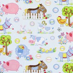 Donkey 1 - Children's Fabrics Animalsfavorable buying at our shop