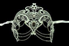 Reception mask. Artisan Princess Masquerade Mask  Hand Made by ElegantxBoutique, $36.95