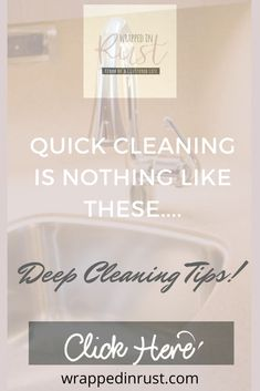 28 Deep cleaning tips for clean freaks. Get a better clean in less time, with 28 tips that make deep cleaning easier! #wrappedinrustblog #deepcleaningtips Cleaning Blinds, Mattress Cleaning, Oven Cleaning, Deep Cleaning Tips, Cleaning Checklist, Kitchen Cleaning, House Cleaning Tips, Natural Cleaning Products, Clean Refrigerator
