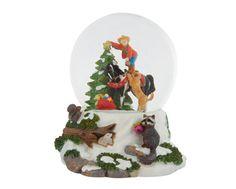 Country Christmas - 2010 Musical Snow Globe