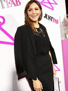 Star Tracks: Thursday, April 2, 2015 | WOMAN IN BLACK | Scorpion star Katharine McPhee dresses in head-to-toe black for the launch of JustFab's ready-to-wear line in West Hollywood on Wednesday.