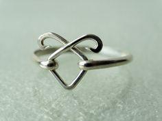Angelic Power Rune ring Solid Sterling by TwilightEyesStudio