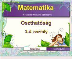 Fotó itt: Matematika , oszthatóság  3-5. osztály interaktív tananyag - Google Fotók Album, Signs, Advent, Google, Peda, Shop Signs, Sign, Dishes, Card Book