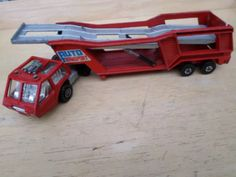 Have this one! (Including the cars that came with the set!) one of my favorite toys growing up!