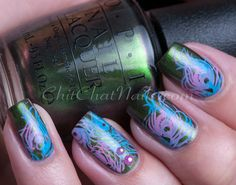 OPI Green On The Runway - ChitChat Nails