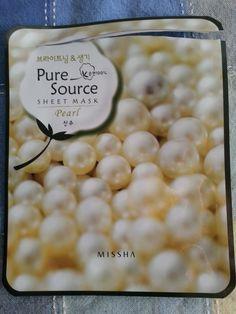 Missha: Pure Source Sheet Mask  Pearl
