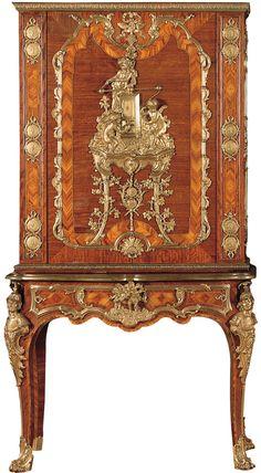 CHARLES CRESSENT | Metals cabinet (one of a pair), c. 1750. | Museu Calouste Gulbenkian, Lisbon