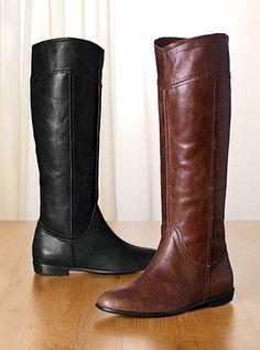 Colin Stuart brandywine riding boots via Victoria's Secret