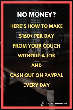 15 Best Money Hacks You Need to Earn Cash Fast Without a Job No options and need to make money now? Here are the 15 best money hacks you need to earn cash fast without a job and become financially flexible. Make Money Now, Ways To Earn Money, Earn Money From Home, Earn Money Online, Online Jobs, Money Tips, Money Saving Tips, Money Hacks, Legit Work From Home
