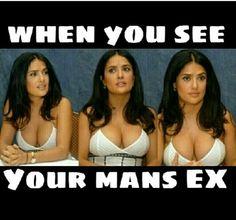 Latinaproblems salma hayek mexicana mexican girlfriendsbelike exgirlfriend girlfriendproblems funny memes lol