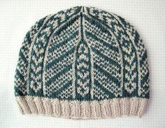 Love this hat will try to knit it.