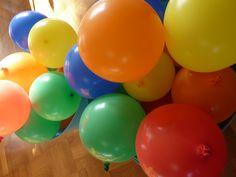 Ballonnen met de tractatie erin