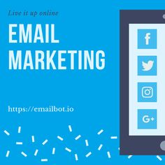 Email Bot offers highly customizable dashboards to all its users. The users can set up the dashboard as per their personal preferences. Online Email, Email Marketing Tools, Best Email, Big, People, Products, People Illustration, Gadget, Folk