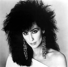 Cher and some spectacular earrings