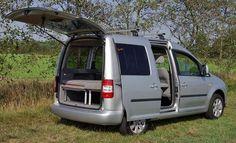 VW Caddy Camp Außenansicht