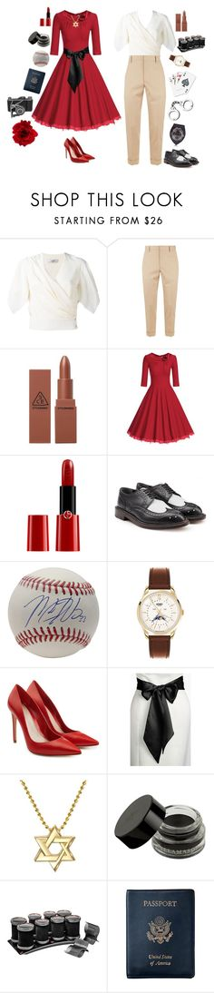 """""""Kate Kane & Maggie Sawyer-DC Comics"""" by conquistadorofsorts ❤ liked on Polyvore featuring Lanvin, Gucci, Giorgio Armani, Robert Clergerie, Henry London, Alexander McQueen, L. Erickson, Alex Woo, Sephora Collection and Royce Leather"""