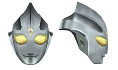 This papercraft is a life size Ultraman Tiga Mask for Cosplay, from the Ultraman franchise, the paper model is created by Gankutsu-O-Taku. You can download