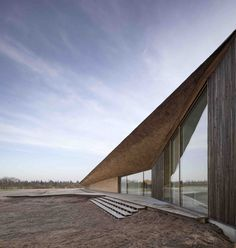 ARCHDAILY: Wade Sea Centre / Dorte Mandrup A/S https://www.davincilifestyle.com/archdaily-wade-sea-centre-dorte-mandrup-as/            Wade Sea Centre / Dorte Mandrup A/S                       Exterior                                                                                  +22                                Exterior     From the architect. Even at first glance the Wadden Sea Centre gives the impression of a building that has emerged from the ground, drawing a soft,