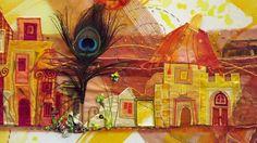 Suite de notre séjour en Alsace pour le carrefour européen du patchwork Direction Lièpvre: Exposition d'Olivia Uffer  ...