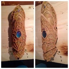 My bracer for my Project. self-Designed and made :) Material is Worbla's finest Art. Http://facebook.com/cyehra