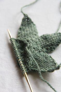 staronneedle - knitting star.