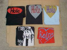 RARE Vintage Hole Courtney Love T Shirt Lot Pretty on The Inside | eBay