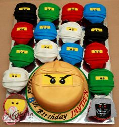 Ninjago Cupcakes and Cakes Made in Canberra Australia