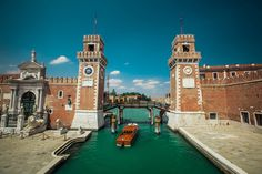 """The Venetian Arsenal (Italian: Arsenale di Venezia) was a complex of state-owned shipyards and armories clustered together in Venice in northern Italy. It was responsible for the bulk of Venice's naval power during the middle part of the second millennium AD. It was """"one of the earliest large-scale industrial enterprises in history""""."""