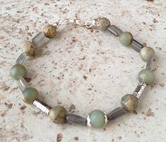 Green Aventurine bracelet Chakra bracelet by LarisJewelryDesigns, $25.00