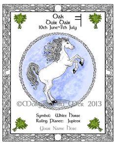 Celtic Lunar Astrology Zodiac Sign Art Prints Druid Tree Lore by Morgaine du Mer Celtic Zodiac Signs, Gemini Moon Sign, Magic Plus, Celtic Animals, Celtic Tree, Moon Signs, Astrology Zodiac, Pisces, Sun And Stars