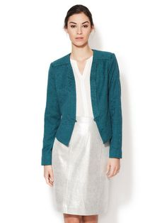 Vancouver Jacquard Blazer by Tart at Gilt