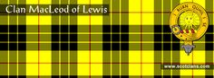 Clan MacLeod of Lewis Tartan and Crest http://www.scotclans.com/scottish_clans/clan_macleod_of_lewis/