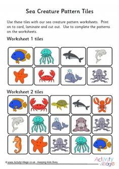 sea creature patterns 2 poisson sea creatures pattern worksheet stuffed animal patterns. Black Bedroom Furniture Sets. Home Design Ideas