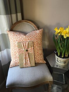 A personal favorite from my Etsy shop https://www.etsy.com/listing/276309090/coordinating-pillow-cover-cross