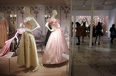 ballgowns at the V&A: A taffeta dress by Elizabeth and David Emanuel