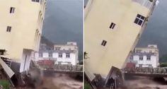 Furacão Irma 'Engole' Prédio Que Cede à Força Da Tempestade