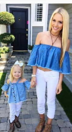 Bold and Bright Kids Fashion Girl Toddler Spring Savannah Soutas, Cole And Savannah, Mommy And Me Outfits, Cute Outfits, Baby Outfits, Look Fashion, Kids Fashion, Sav And Cole, Everleigh Rose