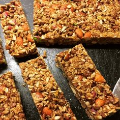 Healthy Sweets, Healthy Snacks, Bar, Banana Bread, Biscuits, Food And Drink, Cooking Recipes, Cookies, Desserts