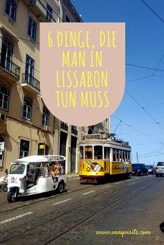 Must-Dos in Lissabon!