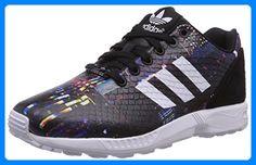 adidas Originals ZX Flux B25834, Damen Low-Top Sneaker, Schwarz (Core Schwarz/Ftwr Weiß/Core Schwarz), EU 39 1/3 - Sneakers für frauen (*Partner-Link)