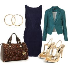This was the outfit I wore for my interview. but different colors and I wore flats. It shows I'm more reasonable =) Fashion 101, Fashion News, Womens Fashion, Vogue, Cute Outfits, Work Outfits, Signature Style, Passion For Fashion, Spring Summer Fashion