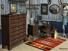 wolfspryte's Quirky Cottagestyle Home Office TSRAA