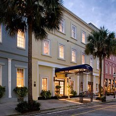 The Vendue Inn is is a beautiful hotel in Charleston, SC!