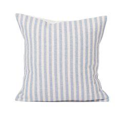 Merino Lambswool Cushion | Harbour Stripe by Tori Murphy