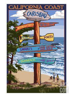 Long Beach Island, New Jersey - Destinations Sign - Lantern Press Artwork Giclee Art Print, Gallery Framed, Silver Wood), Multi Pismo Beach, Key West Florida, Florida Keys, Gainesville Florida, San Diego, New Jersey, Jersey Girl, South Carolina, Banks