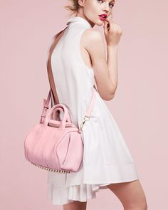 pink Alexander Wang 'Rockie' bag