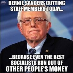 FeelTheBurn Bernie Sanders batshit Crazy