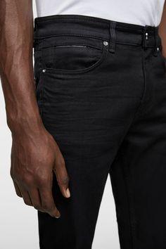 JEANS SLIM FIT-Ver Tudo-CALÇAS DE GANGA-HOMEM   ZARA Portugal Fashion Pants, Mens Fashion, Jack Jones, Pocket Detail, Jeans Style, Denim Man, Slim, Fitness, Clothes